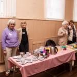 Some of the ladies who prepare & provide tea